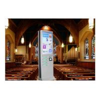 Wholesale Network Kiosk Multi Cell Phone Charging Station With Big Advertising Screen from china suppliers