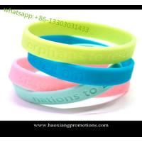 2015 Christmas gift custom silicone wristband / bracelet / rubber band for kids for sale