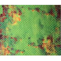Wholesale Polyvinyl  Chloride Green Snakeskin Print Fabric Leather With Natural Pattern from china suppliers