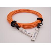 Wholesale OM2 1 Meter 10G AOC SFP+ to SFP+ Breakout Active Optical Cable from china suppliers