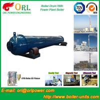 Wholesale Silver Oil Fired Boiler Steam Drum SGS Certification Excellent Performance from china suppliers