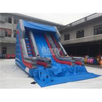Wholesale Small Single Lane Commercial Inflatable Slide On Land For Outdoor 7*5m from china suppliers