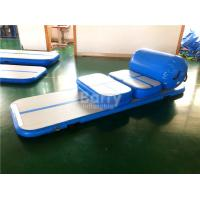 Wholesale Custom Made Air Board / Beam / Block Inflatable Air Tumble Track For Gym 20cm Height from china suppliers
