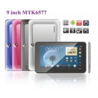 Wholesale 9 Build in 3G +GPS+BT tablet PC, MTK6577 Dual core metal case, 512MB, 4GB, dual camera from china suppliers