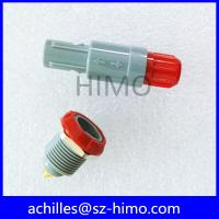 Buy cheap double key 8 pin lemo self-latching plastic connector from Wholesalers