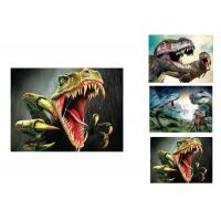 Wholesale Modern OEM 3D Animals Images , Custom Lenticular Printing Flip Effect from china suppliers
