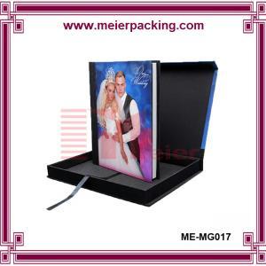 Quality Custom Handmade Album Photo Paper Box/Wedding Favor Printed Rectangle Photo Album Gift Box  ME-MG017 for sale