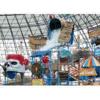 Wholesale Fiberglass Water Playground Equipment / Water Playstation Customized from china suppliers