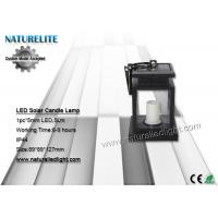 Buy cheap Sensor LED Solar Candle Lamp  5lm imitation Twinkle Flash from Wholesalers