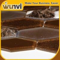 Quality Building Glass And Stone Mosaic Tile , natural stone mosaic tile backsplash for sale