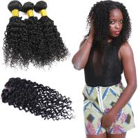 Wholesale Natural Malaysian Virgin Hair Extensions / Malaysian Curly Hair With Silk Base Closure from china suppliers