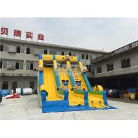 Quality Commercial And Residential Small Kids Inflatable Slide With 0.5mm Pvc Tarpaulin for sale