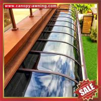 Wholesale building house villa window door patio gazebo proch aluminum polycarbonate pc awning canopy canopies cover shelter from china suppliers
