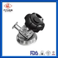 China Sanitary Stainless Steel Tank Bottom Diaphragm Valve With Tri Clamp End on sale