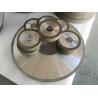 PCD Resin Bonded Diamond Grinding Wheels For Edge Grinding Machine High for sale