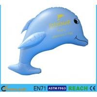 Blue Printing Inflatable Dolphin Pool Toy 30 Inches Size Quick Delivery