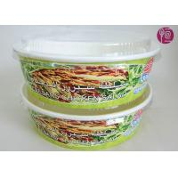Wholesale 26 Ounce Logo Printed Paper Salad Bowls For Grill , Disposable Paper Food Containers from china suppliers