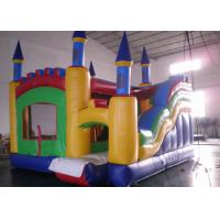 Wholesale Commercial Castle Combo Bounce House / Residential Inflatable Combo from china suppliers
