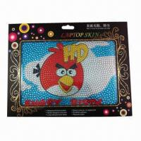 Wholesale 2012 new rhinestone laptop sticker, removable and reusable from china suppliers