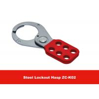 Wholesale Customized Logo 38mm Lock Shackle 112g PA Coated Lock Out Hasp from china suppliers