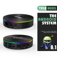China Amlogic S905X2 4K 5.8G WiFi Android 8.1 TV Box on sale
