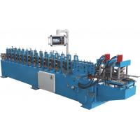 Wholesale PLC Automatic Control Door Frame Roll Forming Machine With Hydraulic Cutter from china suppliers