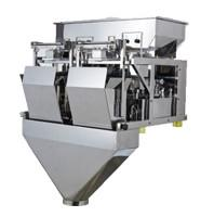 Quality Automatic 2 Head Multihead Weigher , Multihead Weighing Machine For Packing Machine for sale