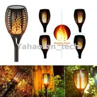 China 96 LED Flickering landscape Garden Lamp solar torch light with dancing flame on sale