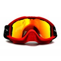 Wholesale Durable Sports REVO Mirror Lens Snowboard Goggles Red with Nose Bridge from china suppliers