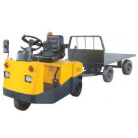 China Good Stability Electric Tow Tractor With Large Capacity 10 Ton One Year Warranty for sale