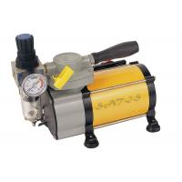 Wholesale Oil Free industrial , laboratory  Mini Air Compressor With Air Pressure Gauge for Airbrushing from china suppliers