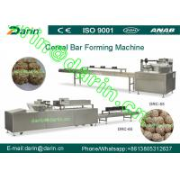 China Popped rice bar forming machine / processing Line with rectangular shape on sale