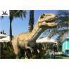 High Simulation Large Dinosaur Garden Ornaments, Moving Dinosaur Yard Model for sale