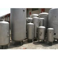 Wholesale 232psi Pressure Horizontal Air Compressor Tank , Water / Gas / Propane Storage Tanks from china suppliers