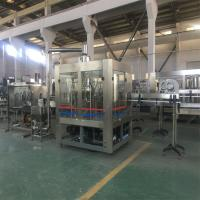 China Mineral Water Automatic Water Filling Machine 15 Capping Heads High Speed Filling Valve on sale