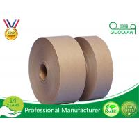 Wholesale Wired 4.8cm Wide Wet Water Kraft Paper Tape / Reinforced Kraft Paper Export Packing Paper from china suppliers