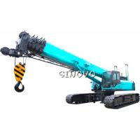 Buy cheap Telescopic Crawler Crane with  lifting capacity 100 ton boom length 48m from Wholesalers