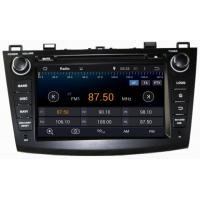 Quality Ouchuangbo Pure Android 4.4 GPS Navigation iPod USB 3G Wifi Radio for Mazda 3 for sale
