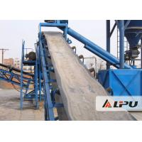 China High Abrasion Resistance Mining Conveyor Systems With High Inclination Angle on sale