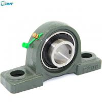 Wholesale 30*38.1*167 mm Agricultural Machinery fan, textile, food, mining and other machinery bearing Pillow Block Bearing UCP206 from china suppliers
