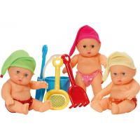 Wholesale 24cm Vinyl Doll with Beach Toys from china suppliers