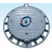 China round  ductile iron manhole cover ,sewage cover drain cover   850x600x100mm on sale