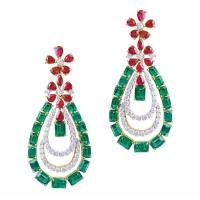 Wholesale Various Plating Color Stylish Earrings Girl Rhinestone Drop Earrings from china suppliers
