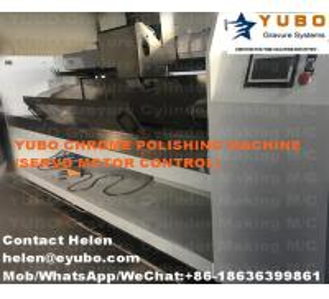China Gravure cylinder chrome polishing machine on sale