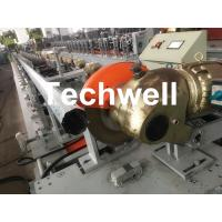 Wholesale 0.4-1.2mm Octagonal Tube Pipe Roll Forming Machine Equipment With Guiding Column And Slide Blocks Forming Structure from china suppliers
