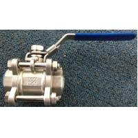 Wholesale Male Female Stainless Steel Ball Valve Fuel Equipment 1000 PSI from china suppliers