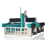 Wholesale Self - Lubricating MDF Engraving Machine , Horizontal Foam Cutting Machine Large Bed Size from china suppliers