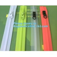 Wholesale #5 TPU Coating Waterproof Open End Nylon Zipper For Outdoor Garment, nylon waterproof zipper with auto lock slider zippe from china suppliers