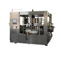 Wholesale 380V Cold Glue Glass Bottle Labeling Machine For Beverage / Chemical from china suppliers