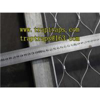 Wholesale stainless steel rope Zoo Mesh/Aviary Mesh for Zoo Animal from china suppliers
